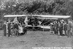 1912 Col Cody Force Lands near in Downley